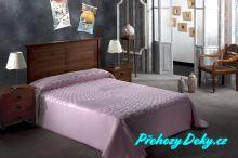 Luxusní španělská deka MORA® Serena růžová 220x240 cm