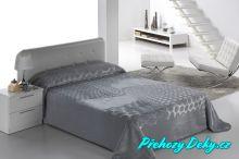 Luxusní španělská deka MORA® Serena šedá 220x240 cm