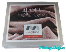 oboustranná deka z mikrovlákna, přehoz na postel, francouzská přikrývka 220 x 240 MORA