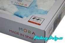 španělská deka do kočárku pro miminko, deky mikroplyš MORA