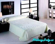 Luxusní španělská deka MORA® Serena přírodní 170x240 cm