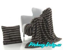 luxusní španělská deka mikroplyš MORA
