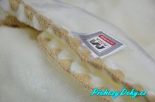 luxusní španělská dětská deka pro miminka, deka z mikrovlákna MORA