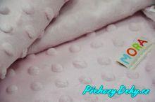 luxusní španělská dětská deka pro miminka do kočárku, deky mikroplyš MORA