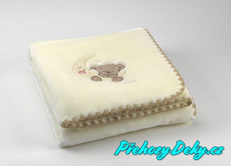 luxusní svítící dětská deka pro miminka, dětská deka z mikrovlákna MORA