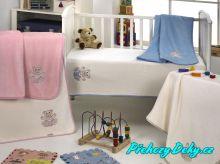 kvalitní španělská deka pro miminka, deka z mikrovlákna MORA