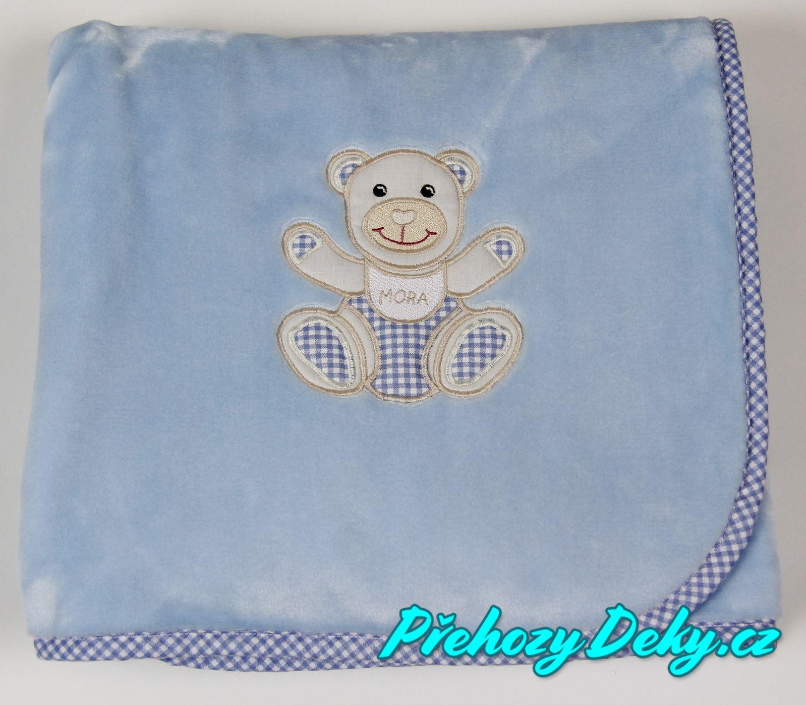 MORA kvalitní španělská deka pro miminka, deka z mikrovlákna