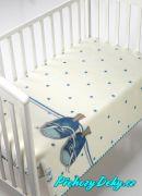 luxusní zimní španělská deka pro miminka do kočárku MORA