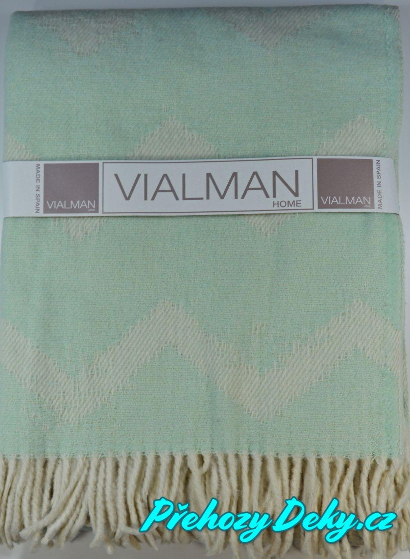 Vialman pletené přehozy na sedací soupravy