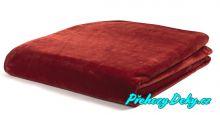 Doprodej - Španělská deka MORA® Color bordó 220x240 cm