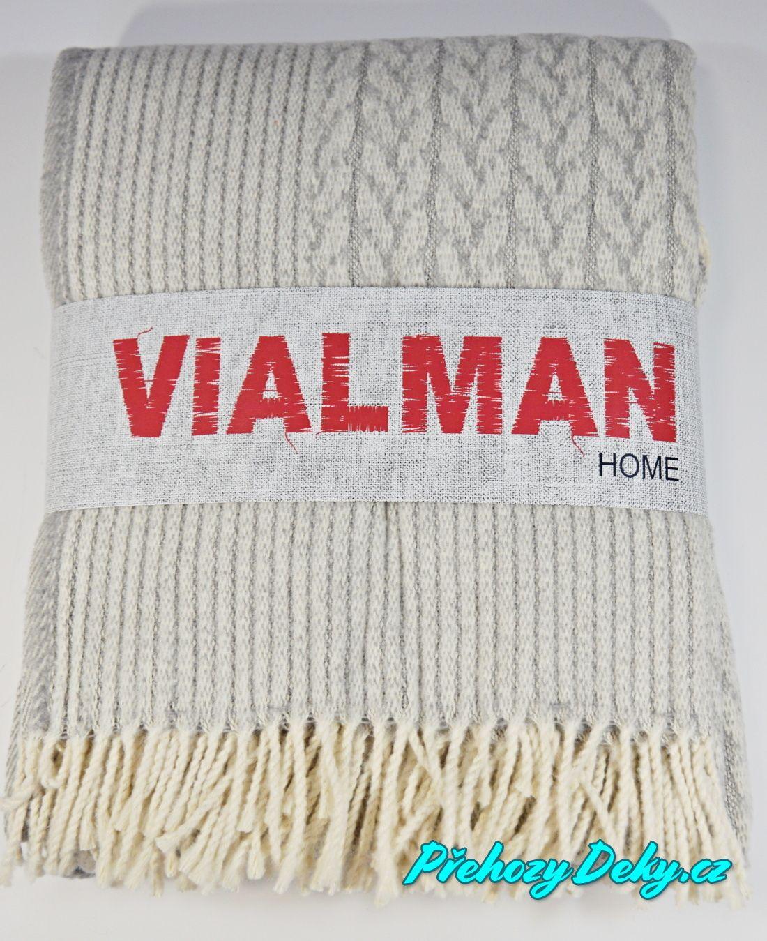 dámský pletený pléd Vialman
