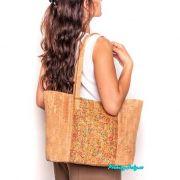 korková velká kabelka přes rameno