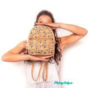 korkový elegantní dámský batoh do města