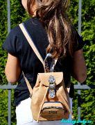 korkový moderní dívčí batoh do města Montado