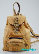 Korkový moderní dívčí batoh Montado® modrý