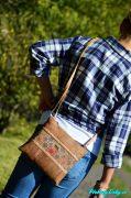 levná korková kabelka pro dívky Montado® tmavší