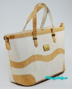 Bílá korková dámská kabelka Montado®