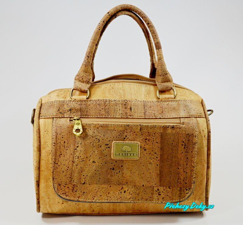 Luxusní korková dámská kabelka Montado®