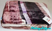 luxusní španělská deka mikroplyš, přehoz na postel 170 x 240 MORA