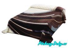 Luxusní španělská deka MORA® Harmony béžová 220x240 cm