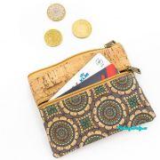 malá korková peněženka dětská na mince