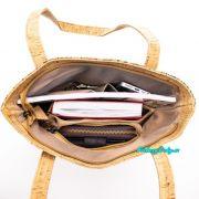nákupní korková kabelka