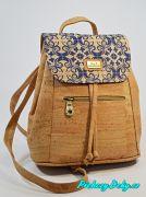 dámské městské batohy velká modrá kabelka Montado