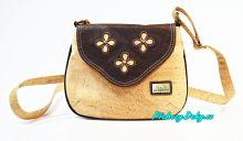 Dívčí korková kabelka přes na rameno Montado® hnědá