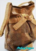 hnědá kabelka, elegantní dámské kabelky Montado