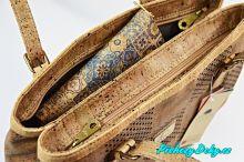 luxusní kabelky korkové, elegantní dámské kabelky Montado