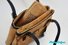 luxusní modré kabelky Montado