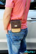Moderní pánská korková kabelka na doklady přes rameno Montado®