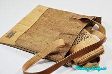 nákupní korková kabelka Montado