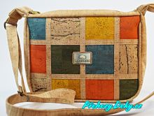 Sportovní korková dámská kabelka přes rameno Montado®